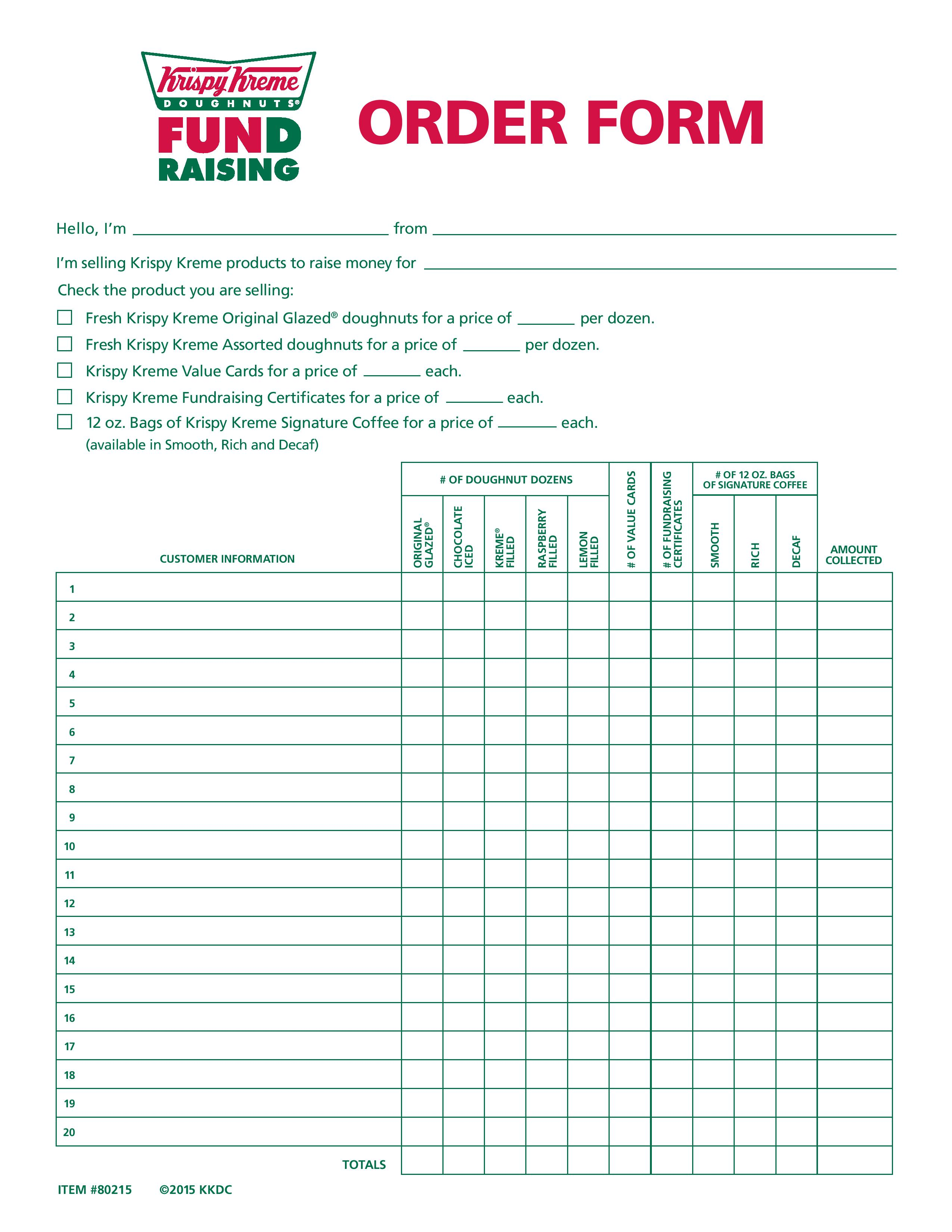 5 Ways To Raise Funds Form Krispy Kreme